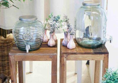 018-willenborg-deko-fruehling-ostern-boho-vase-bowle-glas-getraenkespender