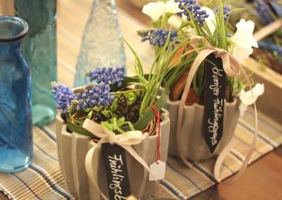 Dekoartikel aus der Frühjahrsaustellung 2013 - Blumenvasen