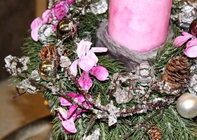 Dekoartikel aus der Weihnachtsaustellung 2013 - Adventskranz