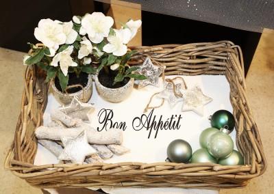 Dekoartikel aus der Mint-Kollektion der Weihnachts-Ausstellung 2015 - Christbaumkugel - Stern